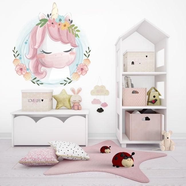 Vinyle pour enfants ou juvénile baby unicorn