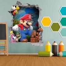 Vinyle enfants et jeunes jeux video mario bros 3d