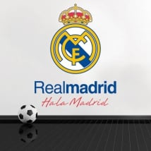 Vinyle et autocollants de football real madrid