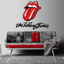 Autocollants et vinyle décoratif the rolling stones