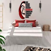 Vinyle décoratif la maison de papier