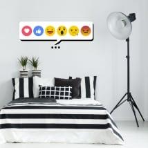 Vinyle et autocollants décoratifs emojis ou émoticônes
