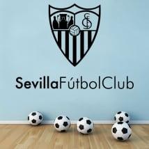 Vinyle décoratif bouclier club de football de séville