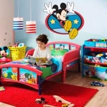 Vinyle décoratif et des autocollants mickey mouse
