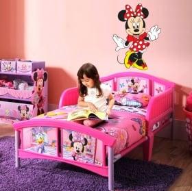 Vinyle de Mickey et Minnie Mouse pour enfants