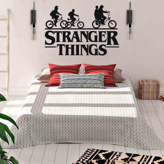 Vinyle décoratif stranger things