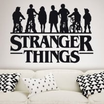 Autocollants en vinyle stranger things