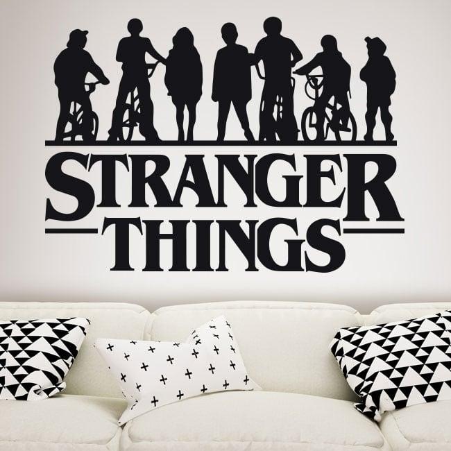 Autocollants en vinyle stranger things