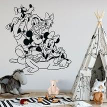 Vinyle pour enfants disney mickey et ses amis