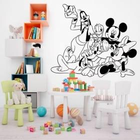 Vinyls disney mickey mouse et ses amis