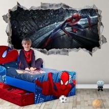 Vinyle et autocollants 3d spiderman