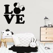 Vinyle décoratif et autocollants disney love