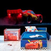 Murales en vinyle disney lightning mcqueen cars 3
