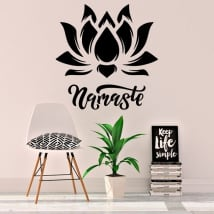 Vinyle décoratif namaste