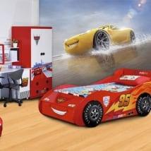 Murales pour enfants voitures disney cruz ramírez