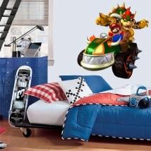 Vinyle décoratif jeu vidéo mario bros
