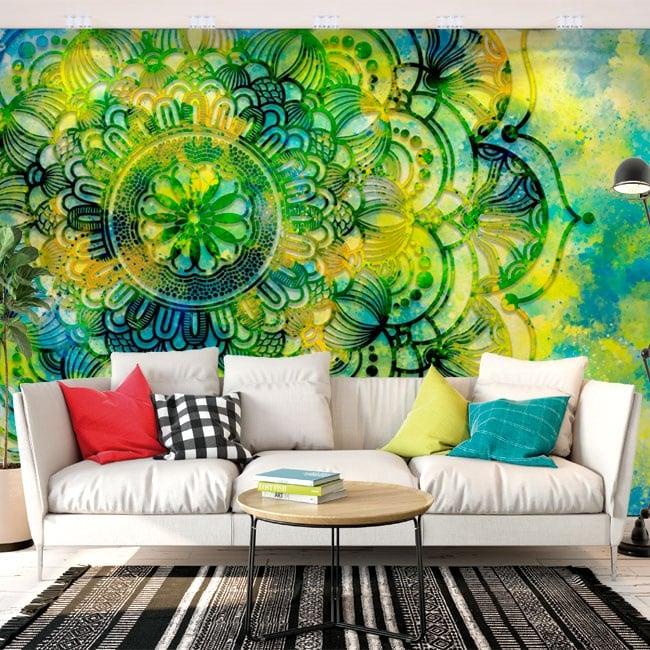 Murales de vinyle avec des mandalas