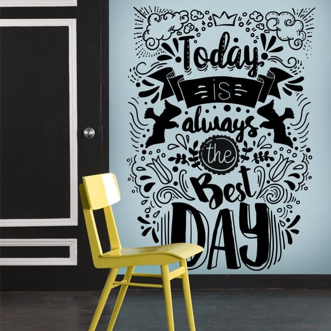 Vinyle décoratif phrases de motivation en anglais