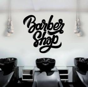 Vinyle décoratif et des autocollants barber shop