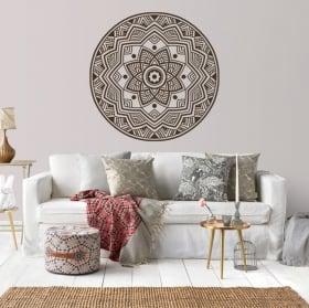 Vinyle décoratif des mandalas
