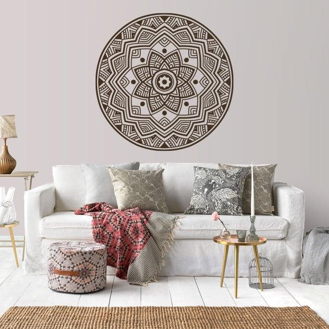 Vinyle décoratif et autocollants avec mandalas