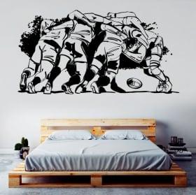 Vinyle décoratif et des autocollants de rugby