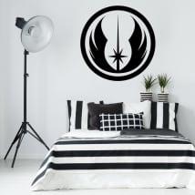 Vinyle et autocollants star wars symbole d'ordre jedi