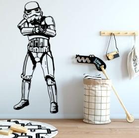 Vinyle et autocollants star wars stormtrooper