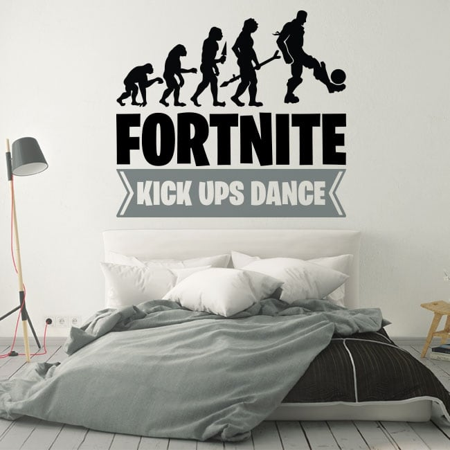 Vinyle et autocollants fortnite kick ups dance