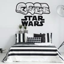 Autocollants en vinyle star wars stormtrooper