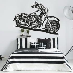 Vinyles et autocollants moto harley davidson