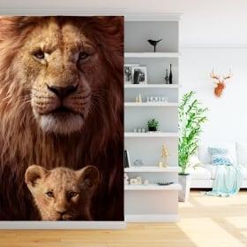 Papier peint vinyle le roi lion