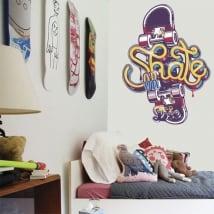 Vinyle décoratif et autocollants skate or die