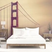 Papiers peints en vinyle pont golden gate