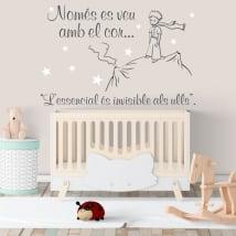 Vinyles et autocollants pour enfants le petit prince en catalan