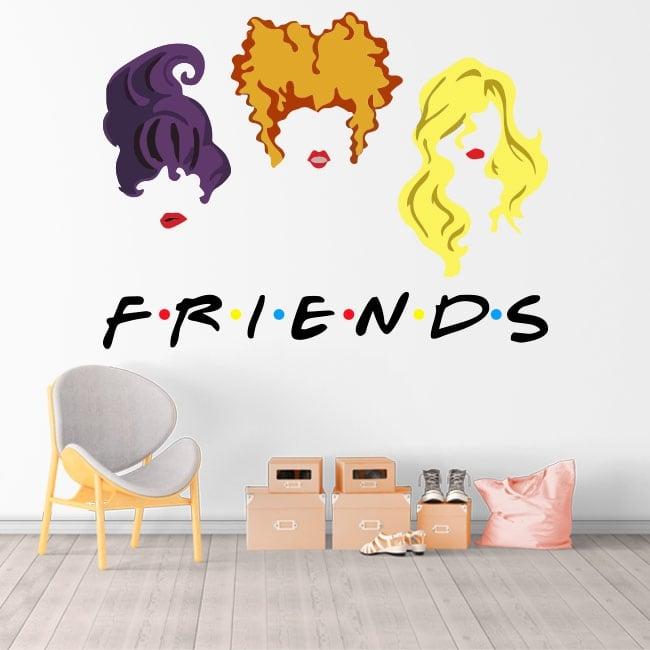 Autocollants en vinyle netflix friends