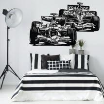 Vinyle décoratif et autocollants grand prix de formule 1