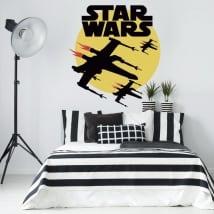 Autocollants en vinyle star wars