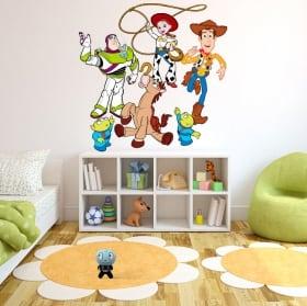 Vinyle et autocollants disney histoire de jouet