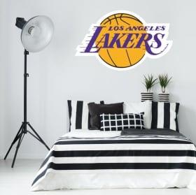 Vinyle et autocollants logo los angeles lakers basket-ball