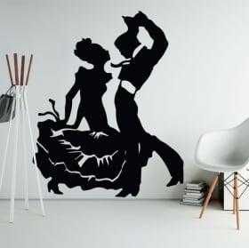 Vinyle décoratif et autocollants flamenco