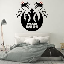 Vinyle décoratif ou autocollant star wars