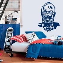 Vinyle décoratif robot c-3po star wars