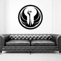 Vinyle et autocollants star wars république galactique