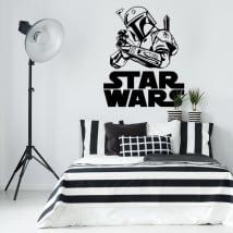 Autocollants et vinyle décoratif star wars boba fett