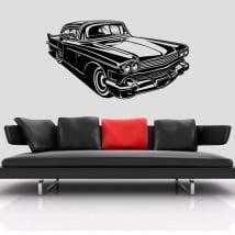 Vinyle décoratif ou autocollants voiture rétro