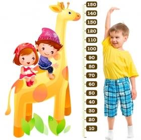 Vinyle et autocollants compteur de girafe enfant