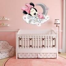 Vinyles et autocollants pour enfants bébé minnie