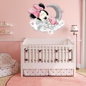 Vinyles et autocollants pour enfants bébé mickey