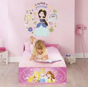 Vinyls et autocollants enfants avec des princesses